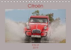 Citroën 2CV – Ente rot (Tischkalender 2019 DIN A5 quer) von Bölts,  Meike