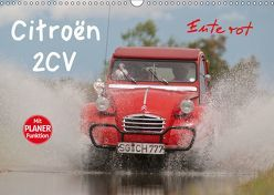 Citroën 2CV – Ente rot (Wandkalender 2019 DIN A3 quer) von Bölts,  Meike