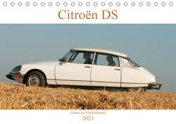 Citroën DS Göttin im Mittelrheintal (Tischkalender 2021 DIN A5 quer) von Bölts,  Meike
