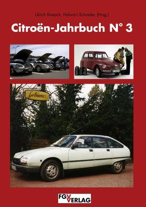 Citroen-Jahrbuch N°3 von Knaack,  Ulrich, Schrader,  Halwart