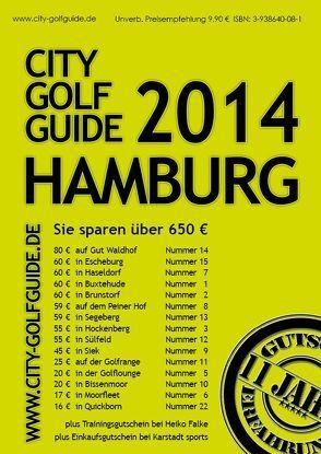 City Golf Guide Hamburg 2014 von Puscher,  Frank