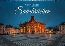 City Lights Saarbrücken (Wandkalender 2019 DIN A2 quer) von Dittmann,  Bettina
