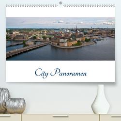 City – Panoramen (Premium, hochwertiger DIN A2 Wandkalender 2021, Kunstdruck in Hochglanz) von Härlein,  Peter