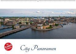 City – Panoramen (Wandkalender 2018 DIN A2 quer) von Härlein,  Peter