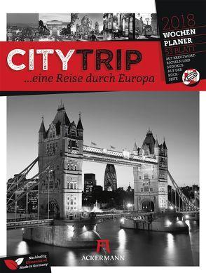 CityTrip Europa 2018 – Wochenplaner
