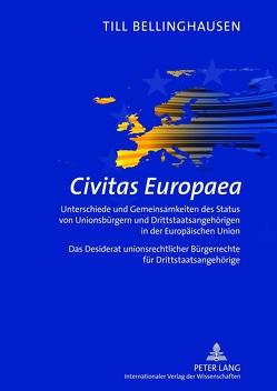 Civitas Europaea von Bellinghausen,  Till