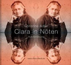 Clara in Nöten (Digipak-Doppel CD) von Adler,  Christine, Thalwitzer,  Olaf