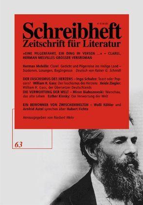 Clarel von Melville,  Herman, Pechmann,  Alexander, Schmidt,  Rainer G, Wehr,  Norbert