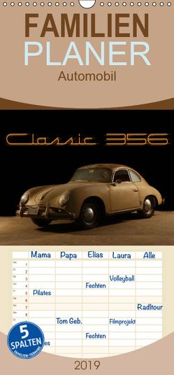 Classic 356 – Familienplaner hoch (Wandkalender 2019 , 21 cm x 45 cm, hoch) von Bau,  Stefan