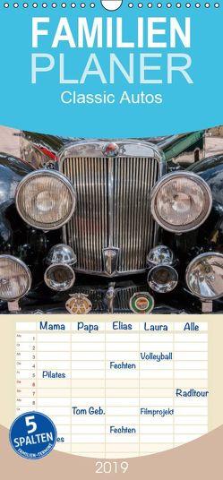 Classic Autos – Familienplaner hoch (Wandkalender 2019 , 21 cm x 45 cm, hoch) von Hilger,  Axel