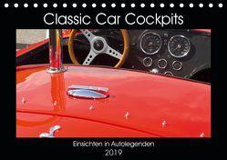 Classic Car Cockpits (Tischkalender 2019 DIN A5 quer) von Eble,  Tobias