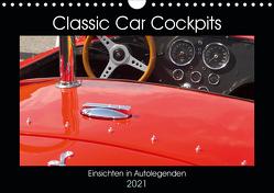 Classic Car Cockpits (Wandkalender 2021 DIN A4 quer) von Eble,  Tobias