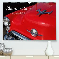 Classic Cars aus den USA (Premium, hochwertiger DIN A2 Wandkalender 2020, Kunstdruck in Hochglanz) von N.,  N.