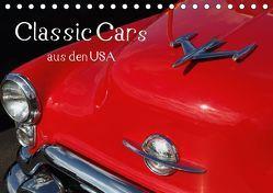 Classic Cars aus den USA (Tischkalender 2018 DIN A5 quer) von N.,  N.