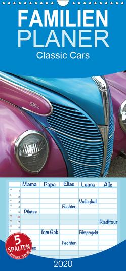 Classic Cars – Familienplaner hoch (Wandkalender 2020 , 21 cm x 45 cm, hoch) von Grosskopf,  Rainer