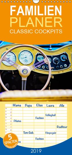 CLASSIC COCKPITS – Funktionale Kunstwerke aus einer anderen Zeit – Familienplaner hoch (Wandkalender 2019 , 21 cm x 45 cm, hoch) von Hartmann,  Gregor