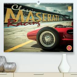 Classic Maserati Racing (Premium, hochwertiger DIN A2 Wandkalender 2020, Kunstdruck in Hochglanz) von Hinrichs,  Johann