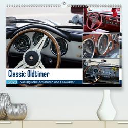 Classic Oldtimer – Nostalgische Armaturen und Lenkräder (Premium, hochwertiger DIN A2 Wandkalender 2020, Kunstdruck in Hochglanz) von Dubbels,  Gorden