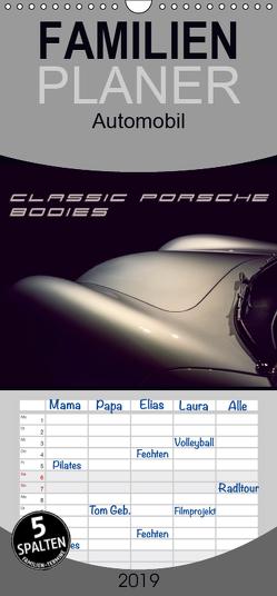 Classic Porsche Bodies – Familienplaner hoch (Wandkalender 2019 , 21 cm x 45 cm, hoch) von Hinrichs,  Johann
