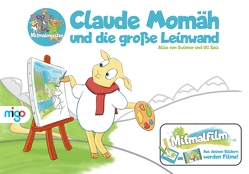 Claude Momäh und die große Leinwand von Seis,  Uli, von Gwinner,  Alice