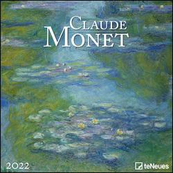 Claude Monet 2022 – Wand-Kalender – Broschüren-Kalender – 30×30 – 30×60 geöffnet – Kunst-Kalender von Monet,  Claude