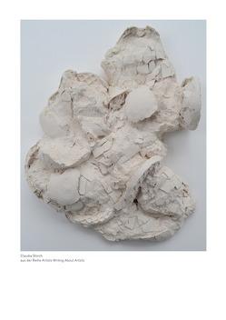 Claudia Storch – aus der Reihe Artists Writing About Artists von Huxel,  Anna