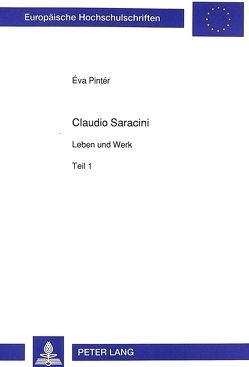 Claudio Saracini von Pintér-Lück,  Eva