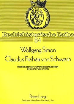 Claudius Freiherr von Schwerin von Simon,  Wolfgang