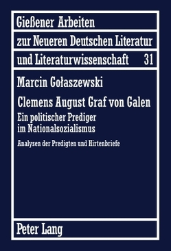 Clemens August Graf von Galen von Golaszewski,  Marcin
