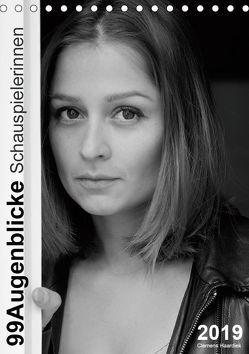 Clemens Haardiek: 99Augenblicke – Schauspielerinnen (Tischkalender 2019 DIN A5 hoch) von Haardiek,  Clemens