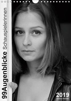 Clemens Haardiek: 99Augenblicke – Schauspielerinnen (Wandkalender 2019 DIN A4 hoch) von Haardiek,  Clemens