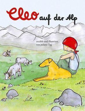 Cleo auf der Alp von Tag,  Juliane