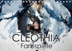 Cleothia Farbspiele (Tischkalender 2019 DIN A5 quer) von Allgaier,  Ulrich, www.ullision.com