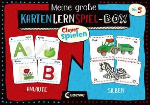 Clever spielen – Meine große KartenLernSpiel-Box – Anlaute/Silben von Labuch,  Kristin