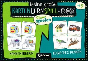 Clever spielen – Meine große KartenLernSpiel-Box – Konzentration/Logisches Denken von Labuch,  Kristin, Merle,  Katrin