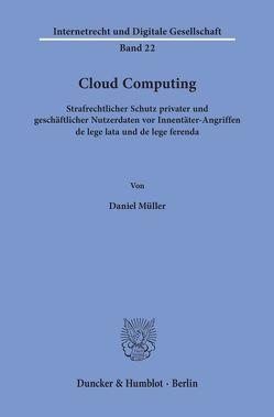 Cloud Computing. von Mueller,  Daniel