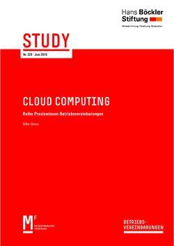 Cloud Computing von Greve,  Silke