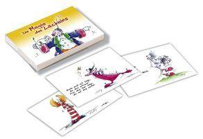 Clown Kärtchenbox – Die Magie des Lächelns von Hörtenhuber,  Kurt, Wolf,  Conny