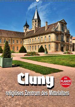 Cluny – religiöses Zentrum des Mittelalters (Wandkalender 2019 DIN A2 hoch) von Bartruff,  Thomas