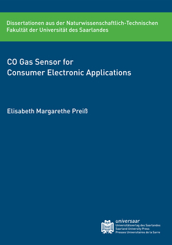 CO Gas Sensor for Consumer Electronic Applications von Preiß,  Elisabeth Margarethe