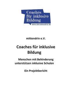 Coaches für inklusive Bildung von Köln mittendrin e. V.
