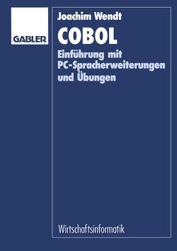 COBOL von Wendt,  Joachim