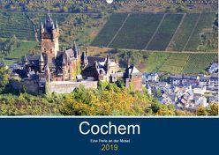 Cochem – Eine Perle an der Mosel (Wandkalender 2019 DIN A2 quer) von Klatt,  Arno