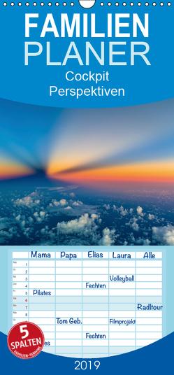 CockpitPerspektiven – Familienplaner hoch (Wandkalender 2019 , 21 cm x 45 cm, hoch) von Willems,  Josef
