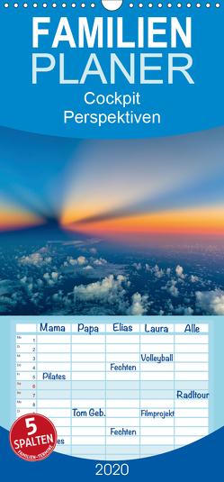 CockpitPerspektiven – Familienplaner hoch (Wandkalender 2020 , 21 cm x 45 cm, hoch) von Willems,  Josef