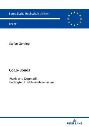 CoCo-Bonds von Gohling,  Stefan