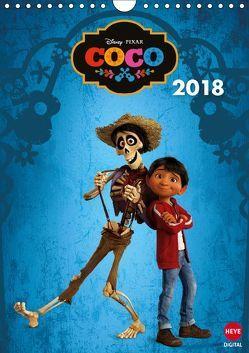 Coco: Lebendiger als das Leben! (Wandkalender 2018 DIN A4 hoch) von Pixar,  Disney