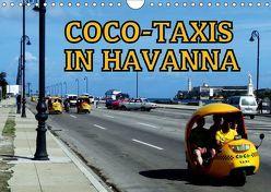 Coco-Taxis in Havanna (Wandkalender 2019 DIN A4 quer) von von Loewis of Menar,  Henning