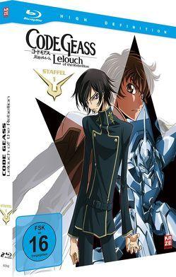 Code Geass: Lelouch of the Rebellion – Staffel 1 – Mediabook Gesamtausgabe (2 Blu-rays) von Taniguchi,  Goro