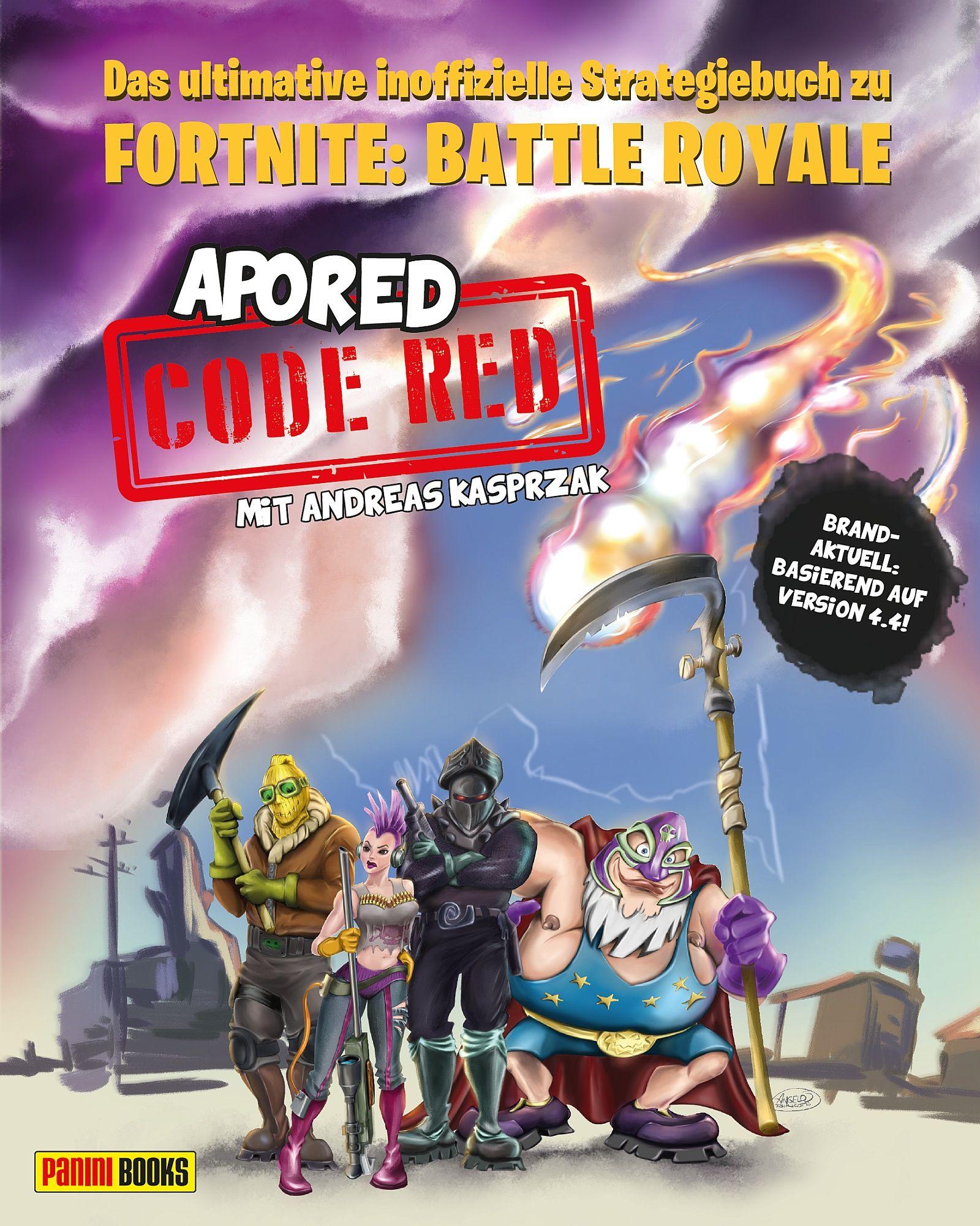 Code Red Das Ultimative Inoffizielle Strategiebuch Zu Fortnite Battl